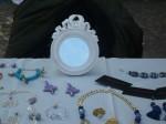 bijoux artigianali, allestimento mercatino, i capricci di nico