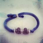 bracciale, velluto, foto bijoux artigianali
