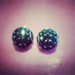 orecchini artigianali, bottoni, vintage, earring