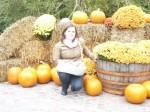 gardaland ad halloween, foto con zucche, i capricci di nico