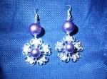 orecchini filigrana fiore viola.JPG
